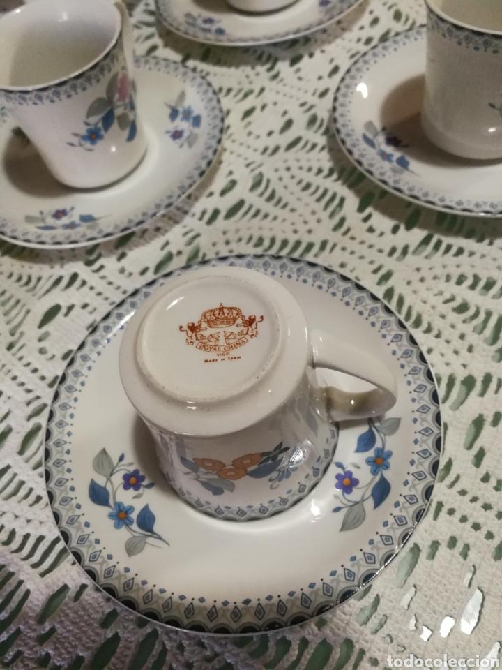 Antigüedades: Juego de café de porcelana. - Foto 4 - 184852240