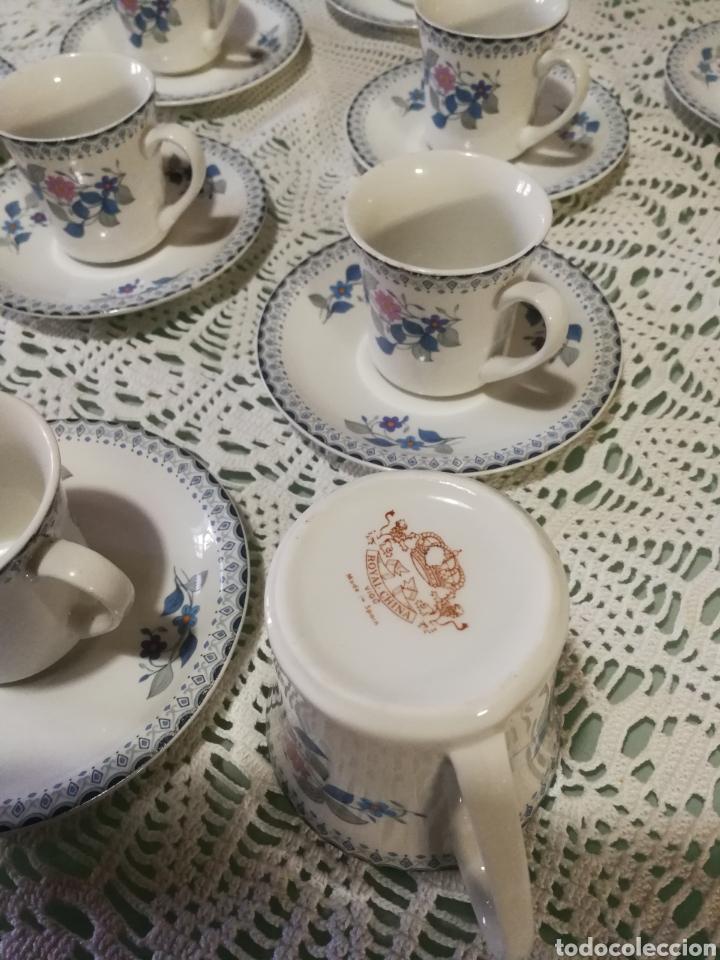 Antigüedades: Juego de café de porcelana. - Foto 6 - 184852240