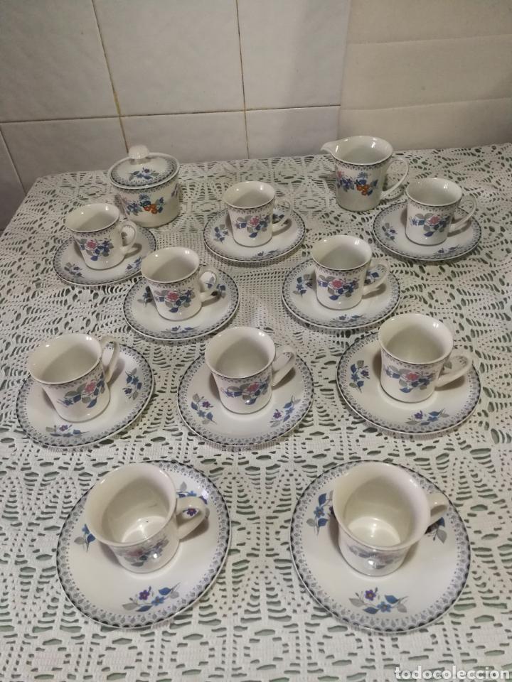 JUEGO DE CAFÉ DE PORCELANA. (Antigüedades - Porcelanas y Cerámicas - China)