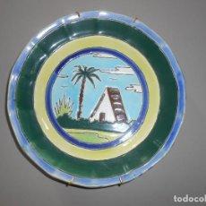 Antigüedades: PLATO CERÁMICA POPULAR -TRIANA (SEVILLA ). Lote 184856026