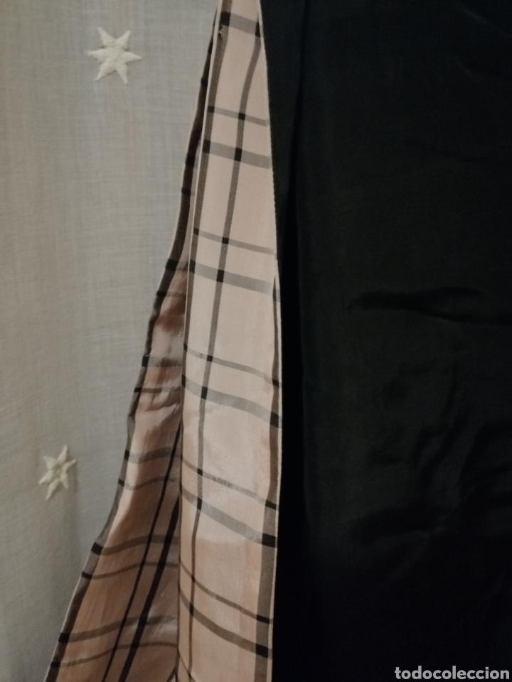 Antigüedades: Antiguo chal de noche en crespon de seda reversible - Foto 5 - 184856267