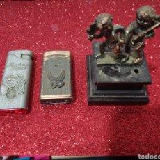 Antigüedades: MECHEROS ANTIGUOS. Lote 184861447