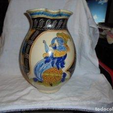 Antigüedades: RUIZ DE LUNA TALAVERA ANTIGUA JARRA DE BOLA.MARCADA EN LA BASE.TIENE ALGUN DESCONCHE EN LA BOCA . Lote 184870556