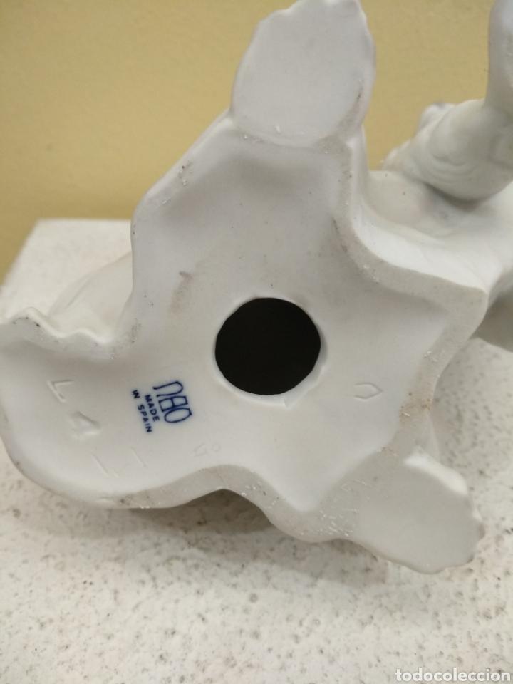 Antigüedades: Figura Perro de porcelana Nao. 21cm alto - Foto 4 - 184878482