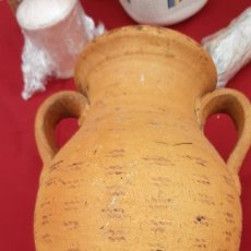 Antigüedades: JARRON ANTIGUO DE BARRO DE 30 CMS. . Lote 184880583