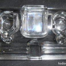Antigüedades: TINTERO RENAU DE VIDRIO. Lote 184940501