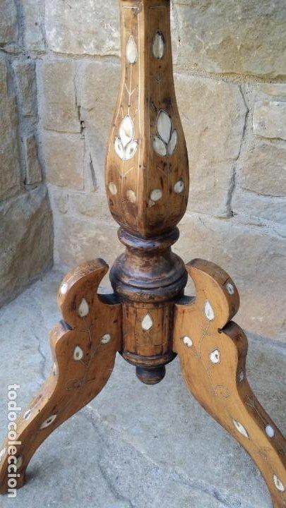 Antigüedades: Antigua mesita auxiliar. - Foto 3 - 117992131