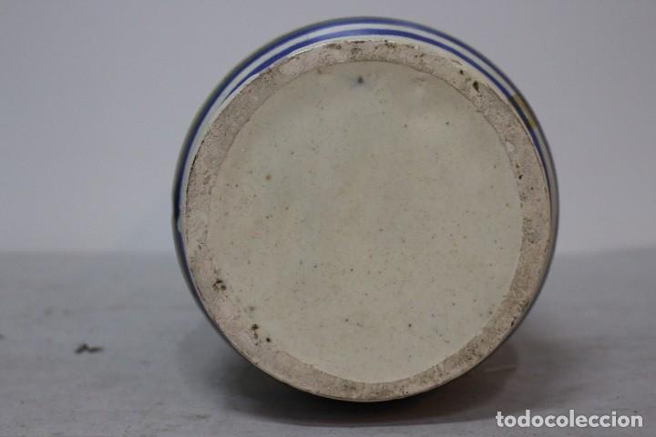 Antigüedades: Precioso albarelo de cerámica de arzobispo del puente. - Foto 5 - 185414153