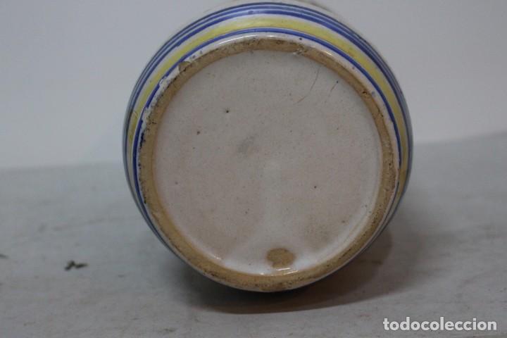 Antigüedades: Precioso albarelo de cerámica de arzobispo del puente. siglo XIX - Foto 5 - 185415667