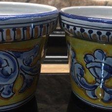 Antiquités: PAREJA DE MACETEROS RENACENTISTA. Lote 185500630