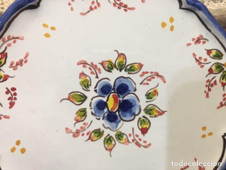 Antigüedades: Pareja de platos - Foto 2 - 185538481