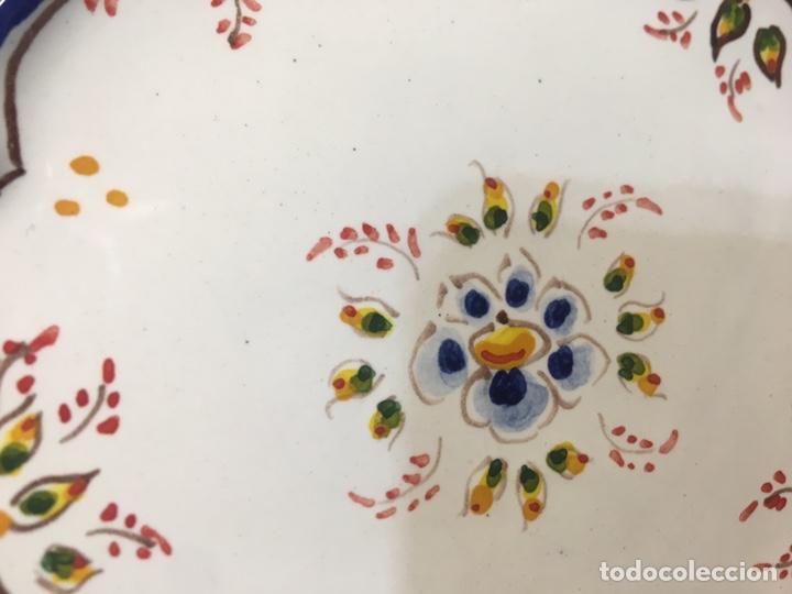 Antigüedades: Pareja de platos - Foto 3 - 185538481