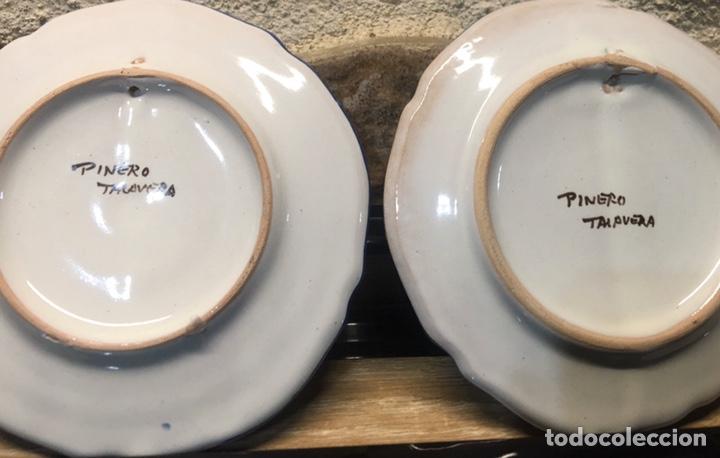 Antigüedades: Pareja de platos - Foto 4 - 185538481