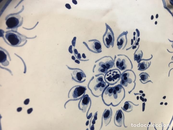 Antigüedades: Pareja de platos - Foto 3 - 185543036