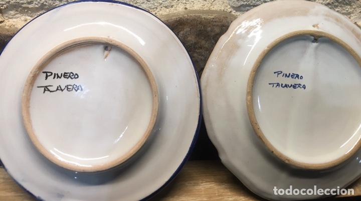 Antigüedades: Pareja de platos - Foto 4 - 185543036