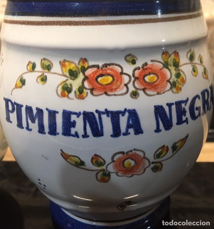 Antigüedades: Pareja de tarros de cocina - Foto 3 - 185558813