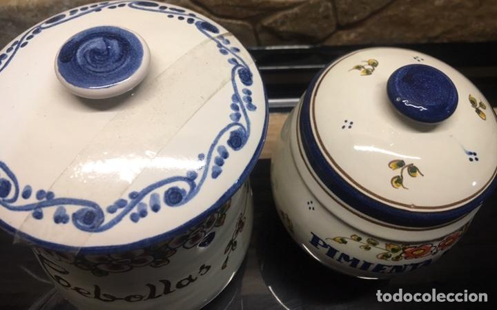 Antigüedades: Pareja de tarros de cocina - Foto 4 - 185558813