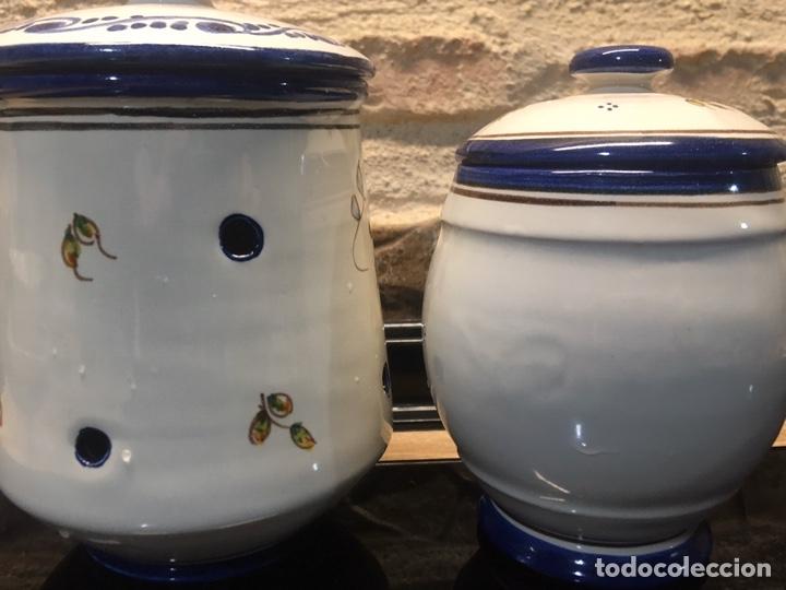 Antigüedades: Pareja de tarros de cocina - Foto 5 - 185558813