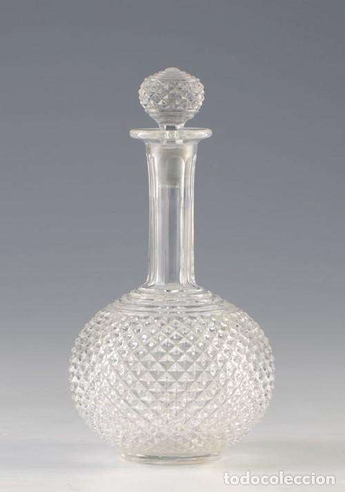 BOTELLA EN CRISTAL BACCARAT. ANTIGUA (Antigüedades - Cristal y Vidrio - Baccarat )