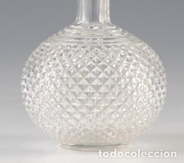 Antigüedades: Botella en Cristal Baccarat. Antigua - Foto 2 - 185674831