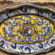 Antiquités: BANDEJA RENACENTISTA. Lote 185688041