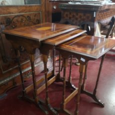 Antigüedades: MESA NIDO CLASICA. Lote 185694680