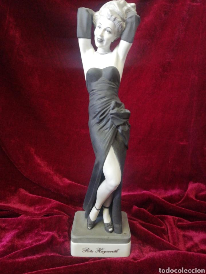 Antigüedades: 3 actrices porcelana algora - Foto 4 - 185700391