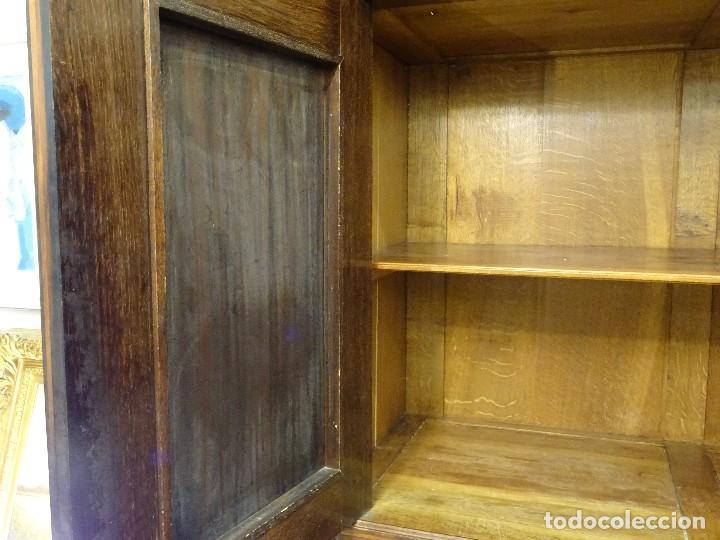 Antigüedades: Mueble inglés estilo Jorge III, S.XIX en madera de palosanto y roble en el interior - Foto 33 - 185701417