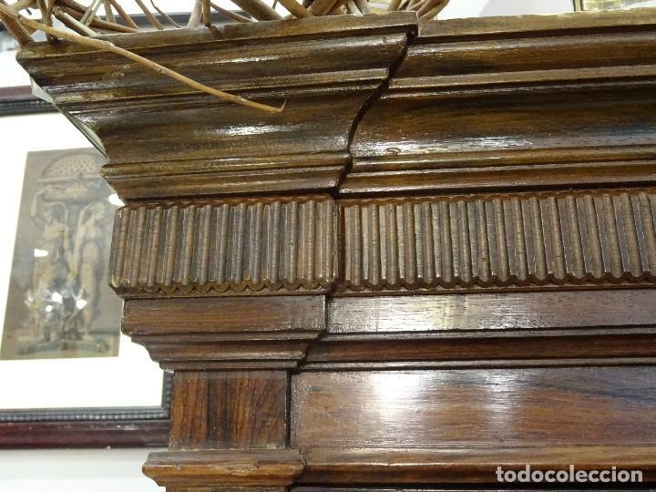 Antigüedades: Mueble inglés estilo Jorge III, S.XIX en madera de palosanto y roble en el interior - Foto 45 - 185701417