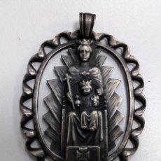 Antigüedades: MEDALLÓN/ MEDALLA ANTIGUA VIRGEN DE LA MERCED PATRONA DE BARCELONA - AE18. Lote 185706063
