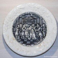 Antigüedades: PLATO INFANTIL PRINCIPIOS SIGLO XIX DE LA SERIE - SACRED HISTORY OF JOSEPH AND HIS BRETHKEN. Lote 185712852