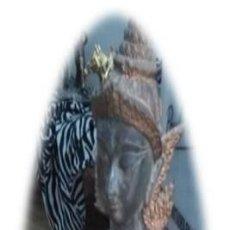Antigüedades: ESCULTURA BRONCE FUNDICIÓN THAILANDIA ANTIGUO. Lote 185717497