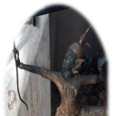 Antigüedades: ESCULTURA DE BRONCE DE THAILANDIA. Lote 185718138