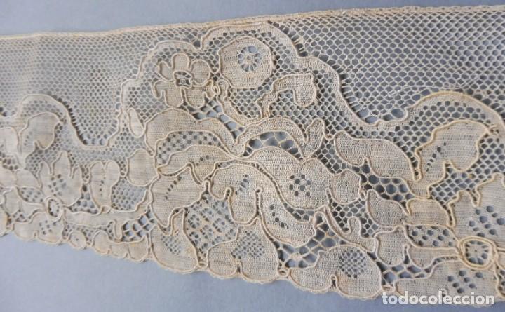 Antigüedades: ANTIGUO ENCAJE ART DECO 530M. - PPIO. S. XX - Foto 2 - 185718186