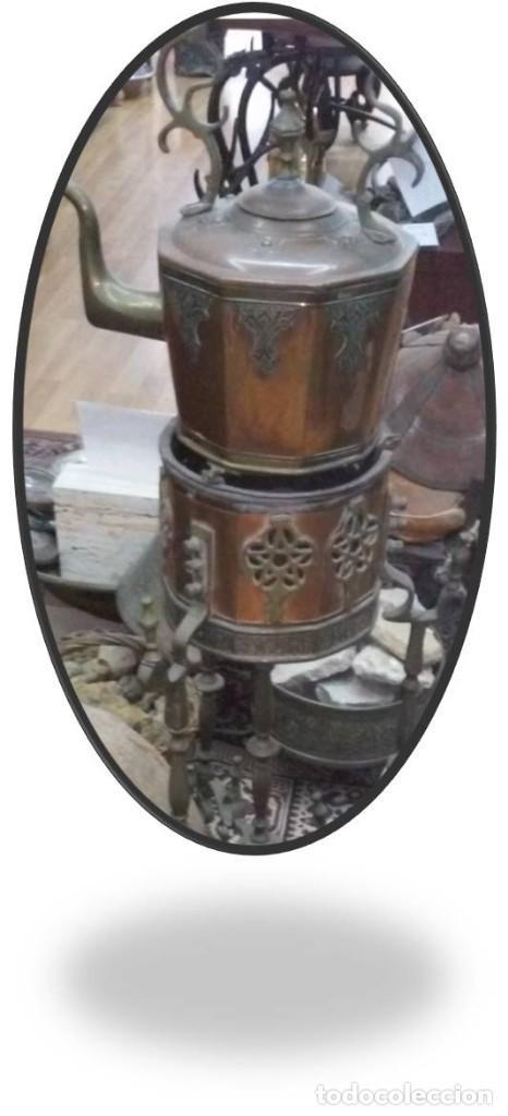 ESCULTURA DE BRONCE DE THAILANDIA (Antigüedades - Varios)