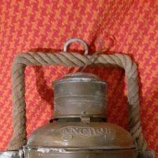 Antigüedades: FARO DE BARCO. Lote 185718812