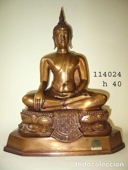 BUDA BRONCE FUNDICIÓN THAI (Antigüedades - Varios)