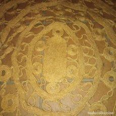 Antigüedades: ANTIGUA ALFOMBRA MANUAL DEL SIGLO XIX. Lote 185726040