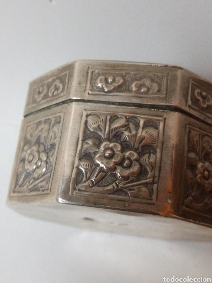 Antigüedades: Antiguo tarro chino de plata. Siglo xix - Foto 3 - 185743747