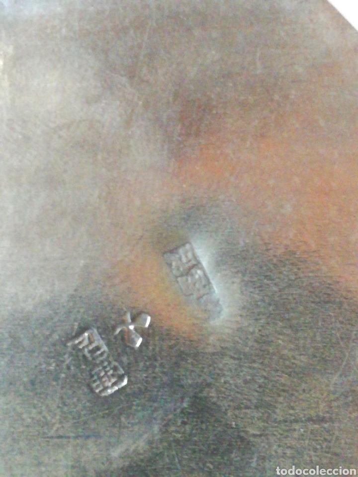 Antigüedades: Antiguo tarro chino de plata. Siglo xix - Foto 7 - 185743747