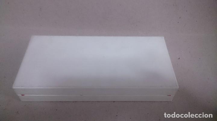 Antigüedades: Juego de cubiertos plata 925 primera comunión en caja - Foto 2 - 185766688