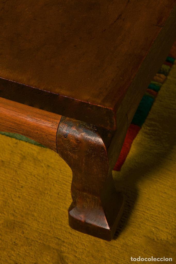 MESA DE CENTRO - MADERA DE TECA MAZIZA (Antigüedades - Muebles Antiguos - Mesas Antiguas)