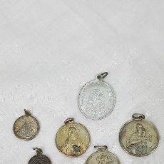 Antigüedades: LOTE MEDALLAS ANTIGUAS. Lote 185915345