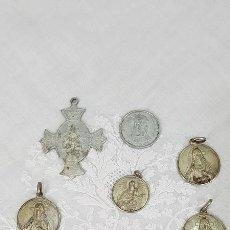 Antigüedades: LOTE MEDALLAS ANTIGUAS. Lote 185915530