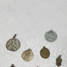 Antigüedades: LOTE MEDALLAS ANTIGUAS. Lote 185915740