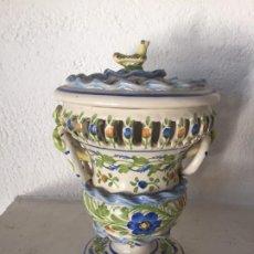 Antigüedades: VASE VALENCIANA AÑO 50. Lote 185916197