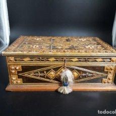 Antigüedades: CAJA DE MADERA. Lote 185951715