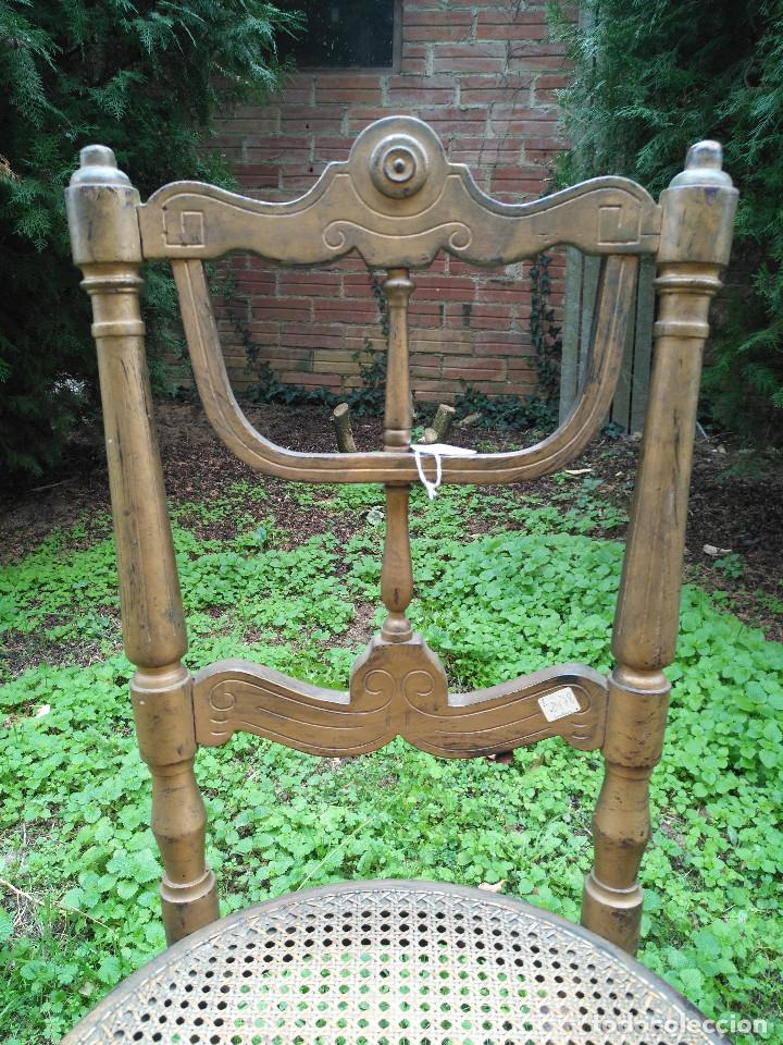 Antigüedades: Silla de piano - Foto 2 - 185971580
