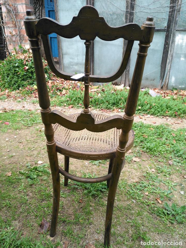 Antigüedades: Silla de piano - Foto 8 - 185971580