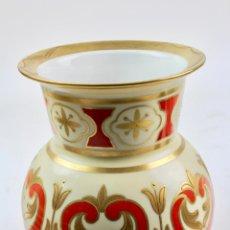 Antigüedades: JARRON DE PORCELANA ALEMANA. HANDMADEREI. S.XX. . Lote 185978623